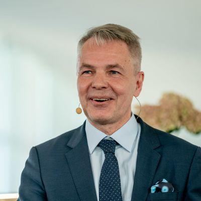 Pekka Haavisto hallitusinfossa