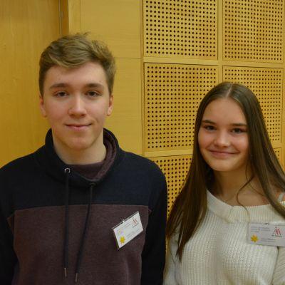 Valter Lax och Alina Wilhelms