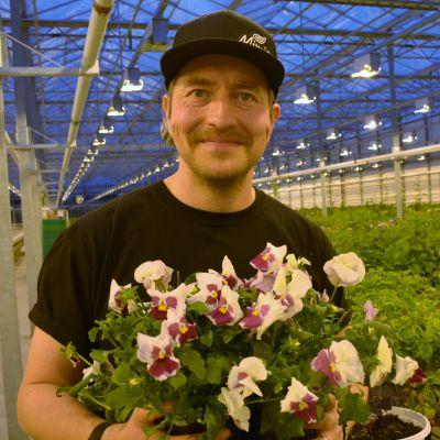 Kotipellon puutarhan toimitusjohtaja Niko Honkanen