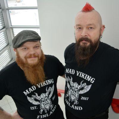 Jere-Miikka Myllymäki ja Sami Orava