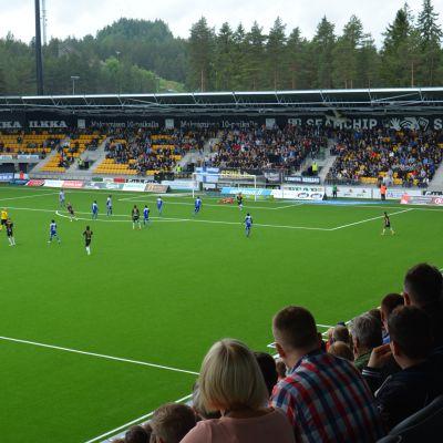 SJK-HJK , Seinäjoen stadion avajaisottelu.