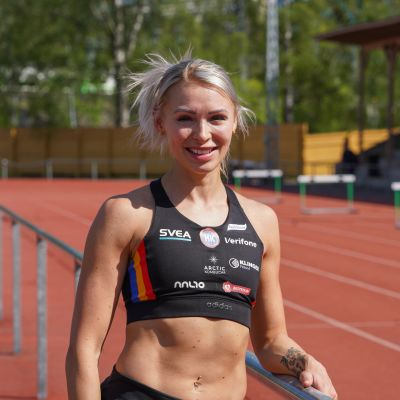 Annimari Korte på Djurgårdens sportplan
