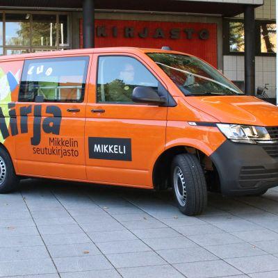 Mikkelin kaupungin kirja-auto Mirja.