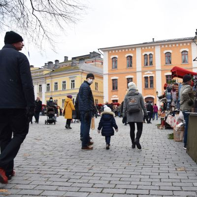 Julmarknad i Åbo.