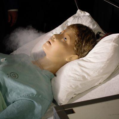 Anne-nuken serkku Suvi auttaa selvittämään viruksen kulkua ilmastoinnissa.