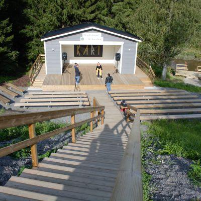 Lions Club Sisu-puisto.