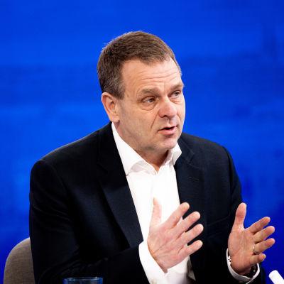 Jan Vapaavuori i programmet Morgonettan.