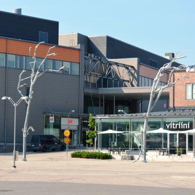 Konstfabriken sett från Vitriini