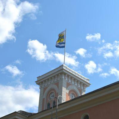 Tornet i Lovisa rådhus.