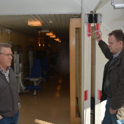 Arno Heinänen och Jarl Boström