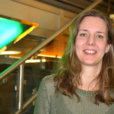 Magdalena Snickars fick ta emot Frans Henrikson-priset 2014