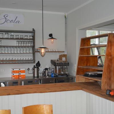 Restaurang Scola i Barösund.