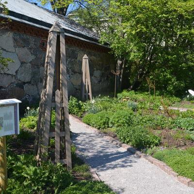 Fjärilsträdgården i Hangö