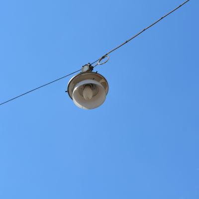 hängande gatubelysning