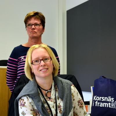 Janna Blomqvist och Ann-Carine Nordmyr