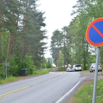 Vättlaxvägen i Bromarv