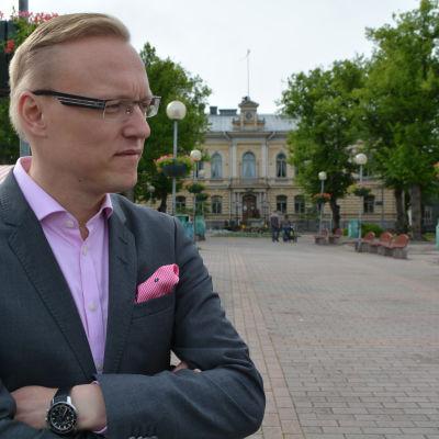 Borgå stadsdirektör Jukka-Pekka Ujula