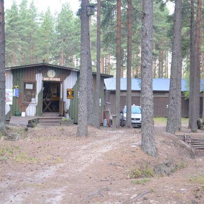Frontmuseet i Lappvik i Hangö.