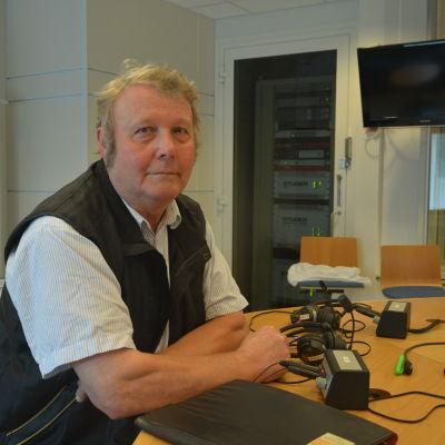 Ingmar Nyberg i studion 15 juli.