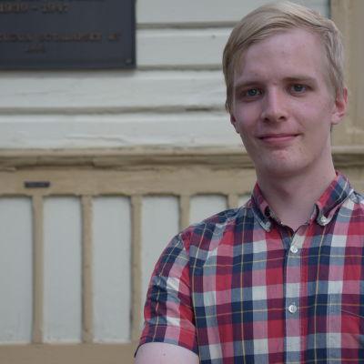 Uula Ranta, student vid Uleåborgs universitet