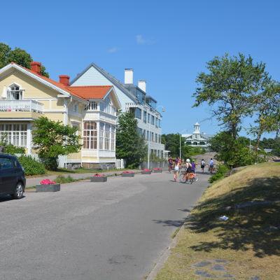 Havsgatan i Hangö.