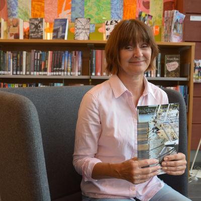 Kati Sandelin, kursplanerare vid Kimitoöns vuxeninstitut augusti 2014