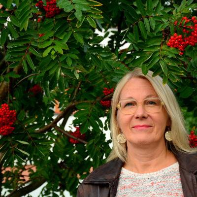 Konstnären Paula Blåfield.