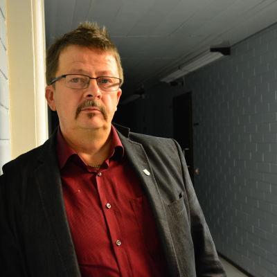 Rainer Bystedt, styrelseordförande i Vörå.