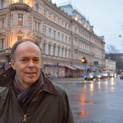 Henrik Karlsson är ordförande för Svenska klubben i Åbo