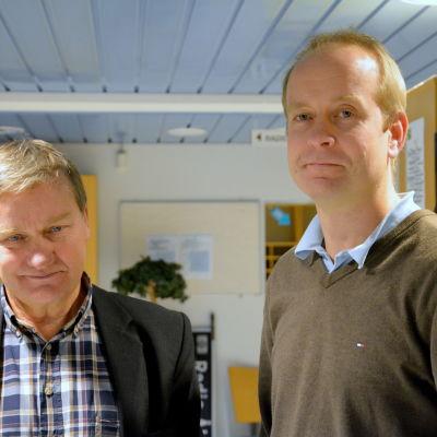 Folke Öhman och Staffan Åberg