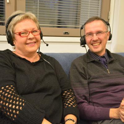 Lili-Ann Junell-Kousa och Dan Idman fredagssnackar 5.12.2014.