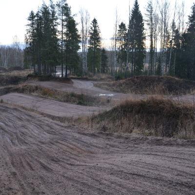 Motocrossbanan i Sjundeå