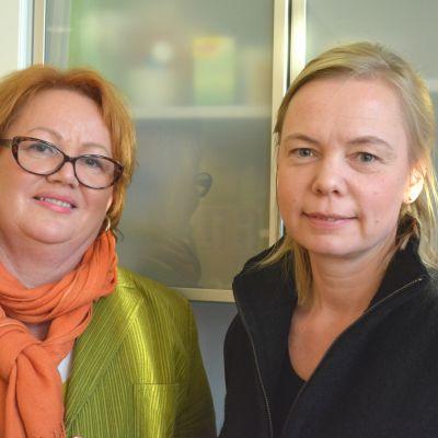 Tiina Reijonen och Annika Weckman är de nya företagarna på Pellinge kursgård.