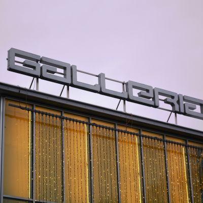 Köpcentret Galleria på Drottninggatan i Lovisa.