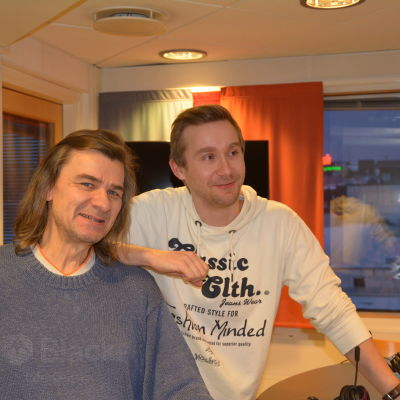 Mats Lundberg och Janne Isaksson