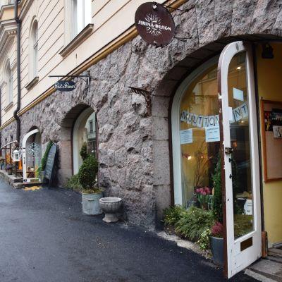 Mariegatan, Sirinä design i Kronohagen