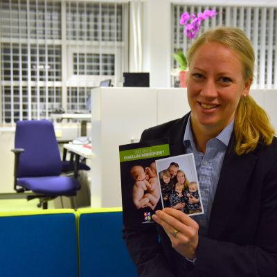Johanna Tidström, ordförande för Vaasan seudun monnikkoperheet.