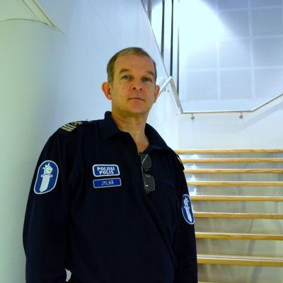 Kommissarie Mika Jylhä.