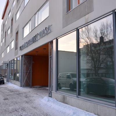 Nya Folkhälsanhuset i Vasa centrum.