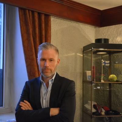 Patrik Wincent föreläser om dataspelmissbruk