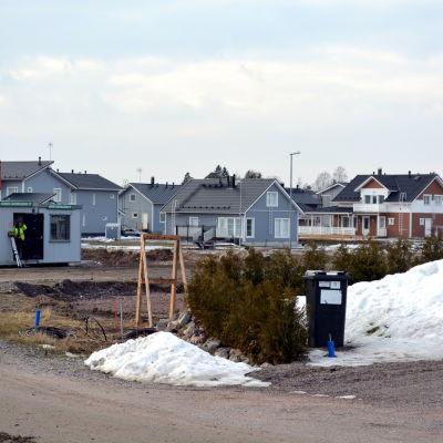 Småhusområde byggs i Alkrog i Borgå.