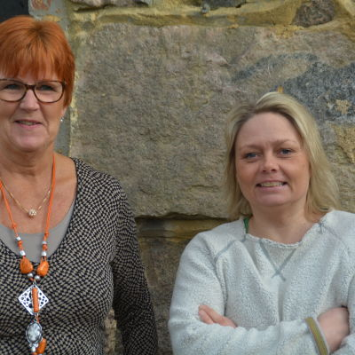 Kerstin Ståhlberg och Ilse Klockars i Fredagssnack 20 mars