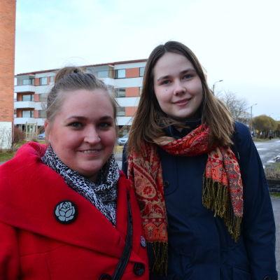 Jonna Lindqvst och Kajsa Karlsson.
