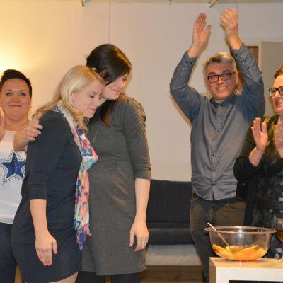 Saara-Sofia Sirén firar sin vinst