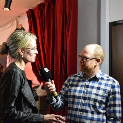 Matilda von Weissenberg intervjuas av Peter Lüttge.