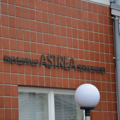Astrea servicehus i Hangö.