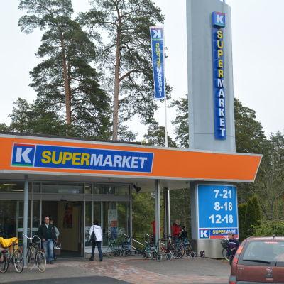 Det tidigare M-Janne blev den 21 maj 2015 K-supermarket Popsi.