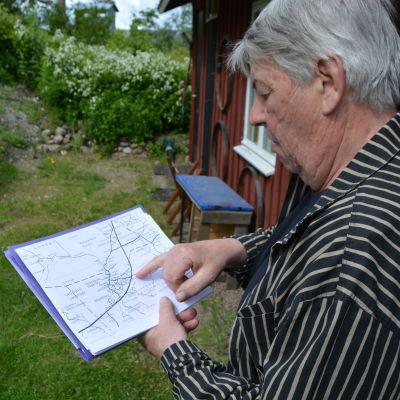 Jan-Erik Slätis kan Norrbys historia.
