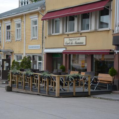 Caféet Carl de Mumma i Ekenäs.