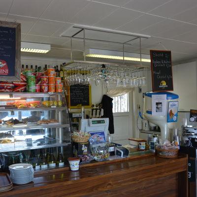 Strand cafe i Sandnäsudd